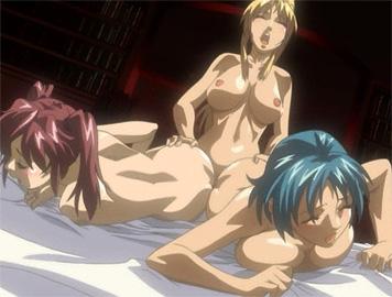 Pretty Redhead Hentai Shemale Having Sex
